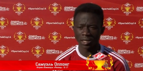 Samuel Oppong about the match against Krasnodar