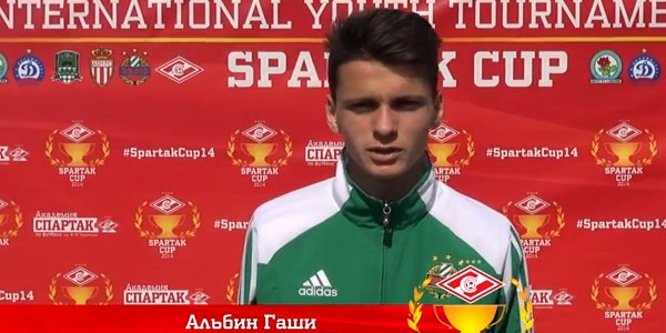 The best forward of the tournament Albin Gashi about the Spartak Cup